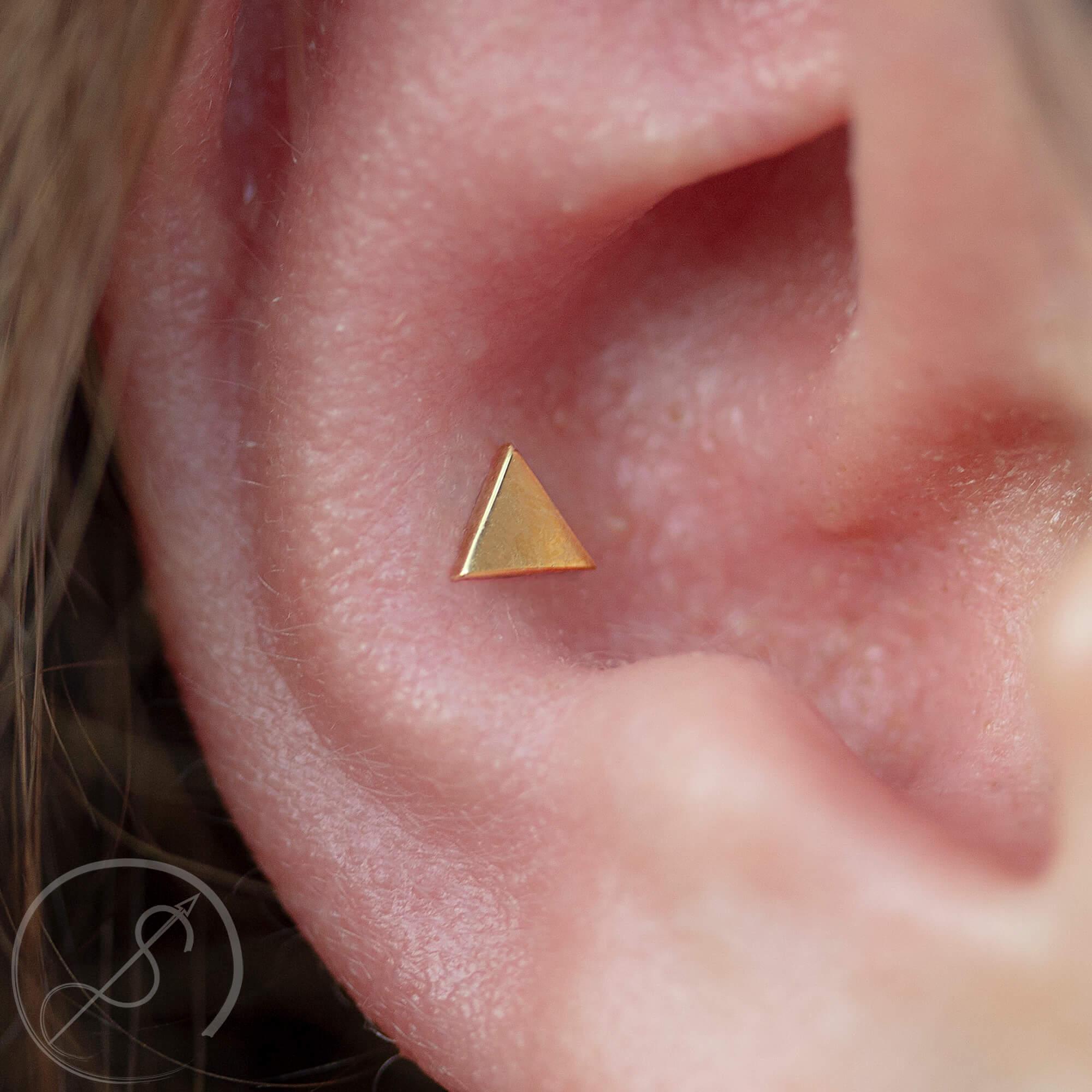 double dydoe piercing